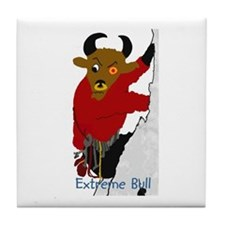 Unique The bull Tile Coaster