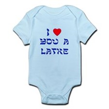 I Love You a Latke Onesie
