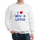 I Love You a Latke Jumper