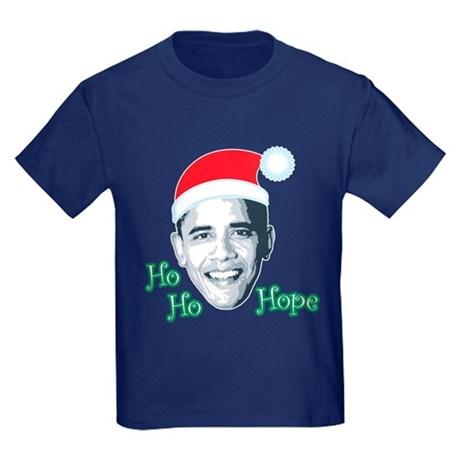 Ho Ho Hope Kids Dark T-Shirt