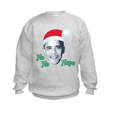 Ho Ho Hope Kids Sweatshirt