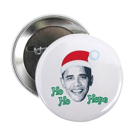 "Ho Ho Hope 2.25"" Button"