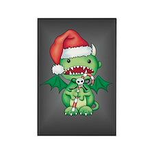 Christmas Devil Rectangle Magnet