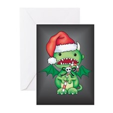 Christmas Devil Greeting Cards (Pk of 10)