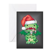 Christmas Devil Greeting Card