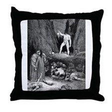 Headless Soul Throw Pillow
