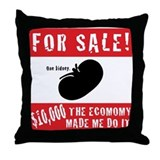 Kidney for Sale Throw Pillow