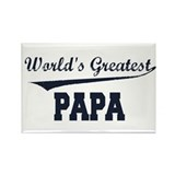 World's Greatest Papa Rectangle Magnet (10 pack)