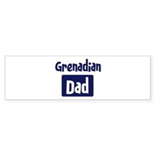 Grenadian Dad Bumper Sticker (50 pk)