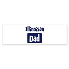 Illinoisan Dad Bumper Sticker (50 pk)