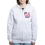 California Women's Zip Hoodie