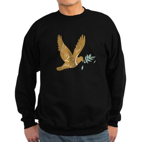 Golden Peace Sweatshirt (dark)
