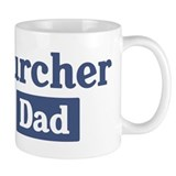 Lurcher dad Small Mug