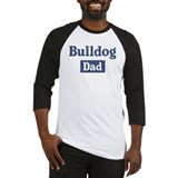 Bulldog dad Baseball Jersey