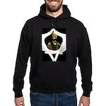 Conscious Rastafarian Art Hoodie (dark)