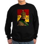 Conscious Rastafarian Culture Art Sweatshirt (dark