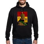 Conscious Rastafarian Culture Art Hoodie (dark)
