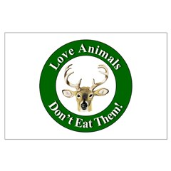 Love Animals Large Poster