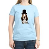 British hat Basset Hound T-Shirt