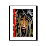 Jah Love Conscious Rastafarian Art Framed Panel Pr