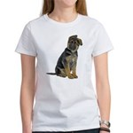 German Shepherd Puppy Women's T-Shirt