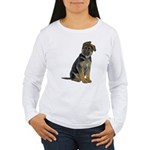 German Shepherd Puppy Women's Long Sleeve T-Shirt