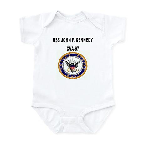 USS JOHN F. KENNEDY Infant Bodysuit