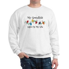 Grandkids Light My Life Sweatshirt