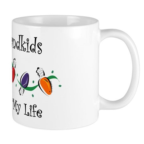 Grandkids Light My Life Mug