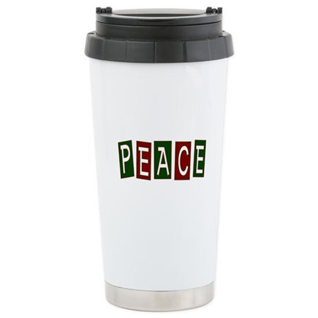 Peace Ceramic Travel Mug
