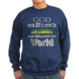 God, Beer &amp; the 82nd Airborne Sweatshirt