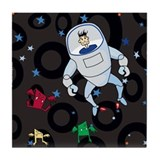 Space Repairman Tile Coaster