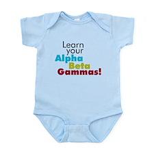 Alpha Beta Gammas Infant Bodysuit