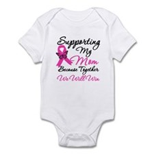 Breast Cancer Support Mom Infant Bodysuit
