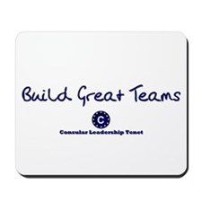 Build Great Teams Mousepad