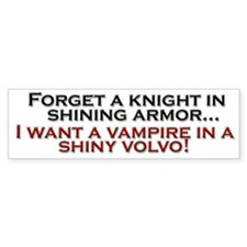 Shiny Volvo Bumper Sticker
