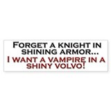 Shiny Volvo Car Sticker