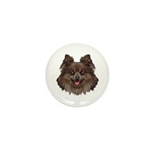 Pomeranian Mini Button (100 pack)