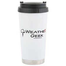 Weather Geek Ceramic Travel Mug