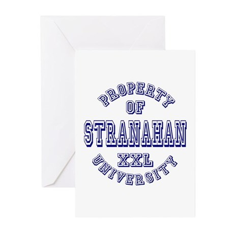 Property of Stranahan University Greeting Cards (P