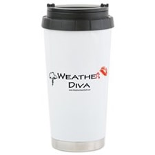 Weather Diva Ceramic Travel Mug