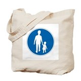 Obligatory Pedestrian Lane, Sweden Tote Bag