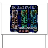Tiki Joe's Baha Hut Yard Sign