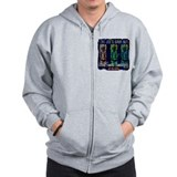 Tiki Joe's Baha Hut Zip Hoodie