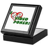 Video Poker Keepsake Box
