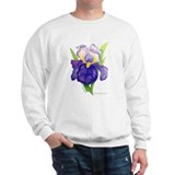 Purple Iris Sweatshirt