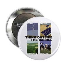 "Think Outside the Barrel 2.25"" Button (100 pack)"