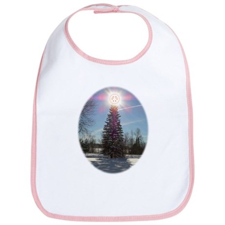 Christmas Peace Bib