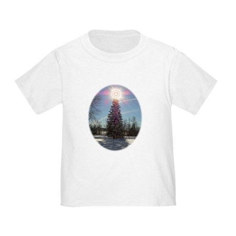 Christmas Peace Toddler T-Shirt