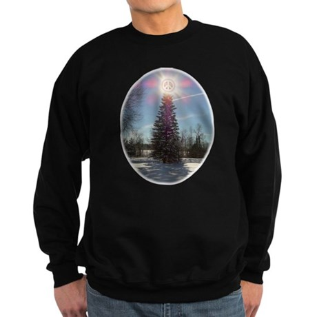 Christmas Peace Sweatshirt (dark)
